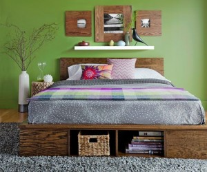 8 DIY Storage Beds