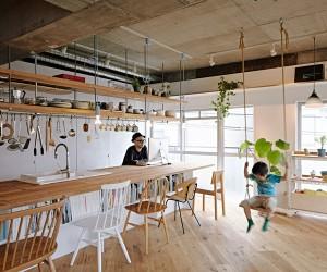 8 Tenhachi Renovates a 67sqm Apartment in Kanagawa