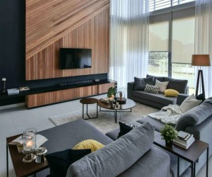 80 Modern TV Wall Design Ideas