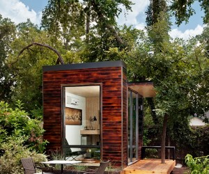 92 Square Foot Backyard Office in Austin by Sett Studio