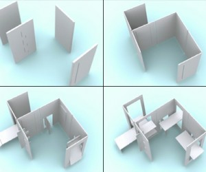 A 2D Furniture In a 3D World