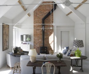 A barn conversion in Berkshire