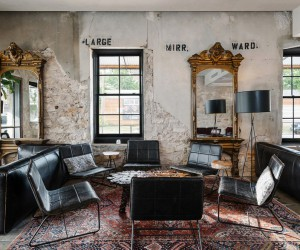 A Boutique Hostel, Cafe, and Event Space Nestled in a 1800s Stone Building
