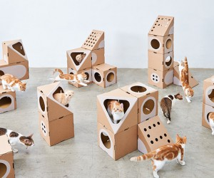 A Cat Thing Designs Cardboard Furniture For Cats