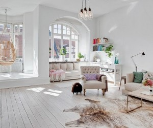 A cheerful apartment in Helsingborg, Sweden