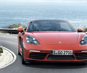 A Closer Look At The New Porsche 718 Boxster