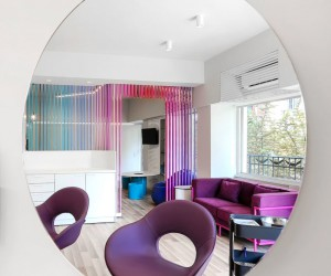 A Colorful Private Clinic That Will Brighten Childrens Visits