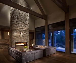 A contemporary Mountain Retreat Surrounded by Montana Wilderness