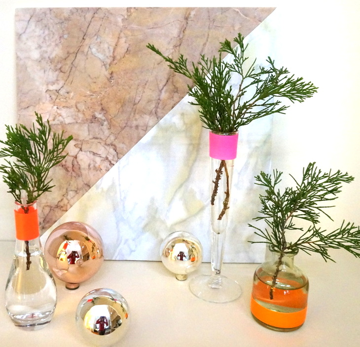 A diy christmas centerpiece with tropical flair prices