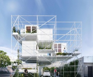 A Final Project Completed by Two Architectural Students in Montevideo, Uruguay