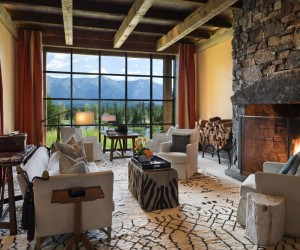 A Homestead in Montana Blends Rustic and Modern Details