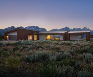 A Jackson Hole Passive House That Offer Sweeping, Unobstructed Views