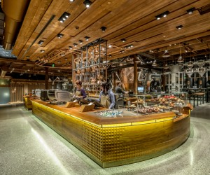 A Look inside the Worlds Largest Starbucks