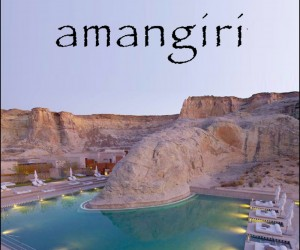 A Look Outside and Inside The Amangiri Resort and Spa