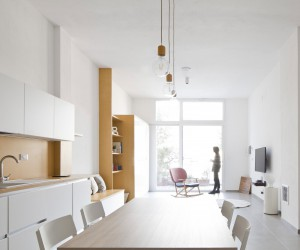 A Minimalist Apartment in Arenzano, Italy