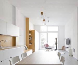 A Minimalist Apartment in Arenzano, Italy