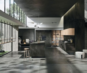 A Minimalists Dream: Polished Way Materia Kitchen for the Urban Home