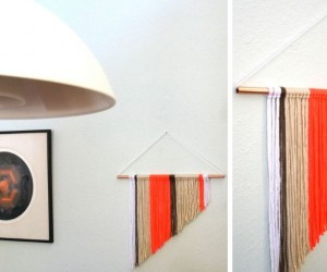 A Modern DIY Wall Hanging