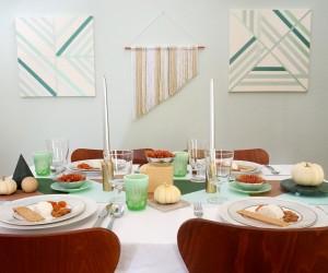 A Modern Thanksgiving Table Idea