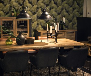 A Natural Upgrade: 25 Wooden Tables to Brighten Your Dining Room