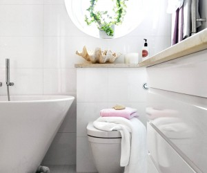 A Nautical Bathroom Theme: 3 Ways