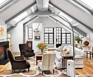 A Penthouse Apartment Where Manhattan Meets Montmartre