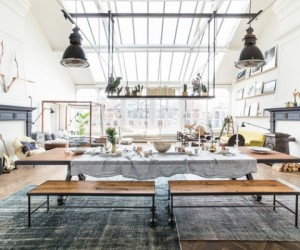 A pop-up shop of modern eclectic interiors: Loft II, Amsterdam