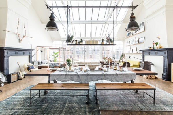 A pop up shop of modern eclectic interiors loft ii amsterdam