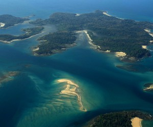 A rare trio of pristine Pacific Islands in Panama can be yours for 100 Million