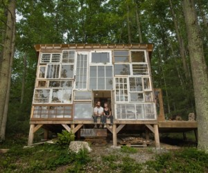A Recycled Cottage: The Treehouse Reimagined