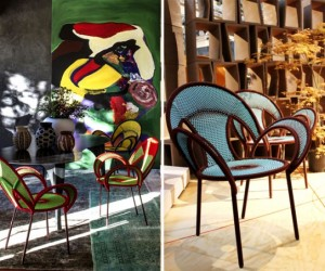 A riot of upholstered furniture ideas from Moroso
