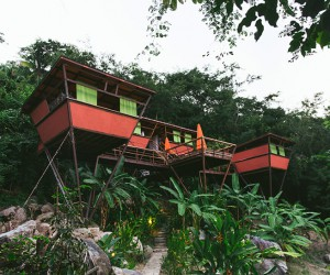 A Rustic Modern Hotel in the Forests of Yelapa, Mexico