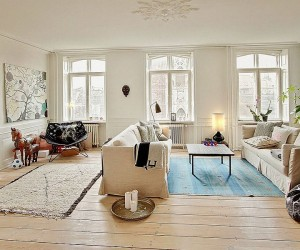 A Study in Scandinavian Style: Charming Modern Apartment in Denmark