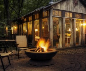 A Tte--Tte with nature: amazing cabins in Wisconsin