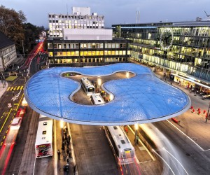Aarau Bus Station by Vehovar  Jauslin Architektur