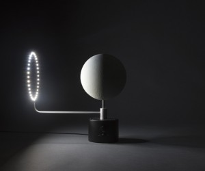 Accurate 3D-Printed Lunar Globe by Oscar Lhermitte