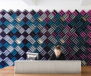 Acoustitch Installation by RCKa at 11 Waterloo Place, London