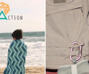 Acteon: Compact Antibacterial Beach Towels