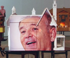 Actor Bill Murray and Architecture Merge in New Exhibit