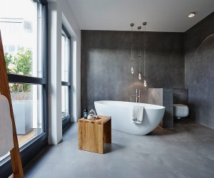 Adding Concrete to the Bathroom in Style: Modern Minimalism Unleashed