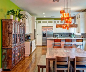 Adding Sparkle to Your Kitchen: Orange Pendant Ideas