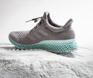 adidas 3D-Printed Shoe Made From Plastic Waste
