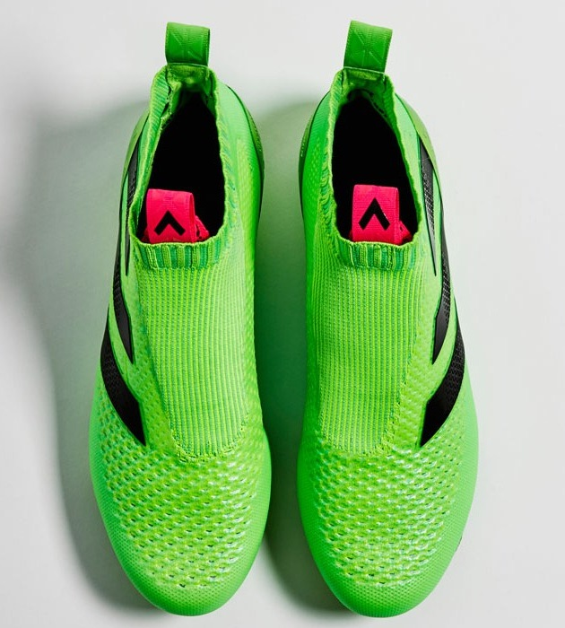 pretty nice 5b585 0a936 Adidas ACE 16 Pure Control FG Soccer Shoes Ditches Laces