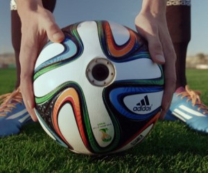 Adidas Brazucam Camera-Ball with 360 Degree Views