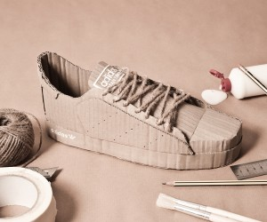 Adidas Cardboard Replicas by Chris Anderson