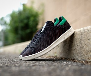adidas Stan Smith Primeknit BlackGreenOrange