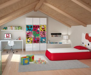 Adorably Stylish: 15 Hello Kitty Bedrooms that Delight and Wow