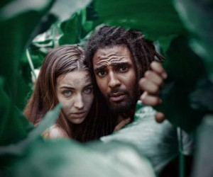 Adrian McDonald Recreates Biblical Story Of Adam And Eve