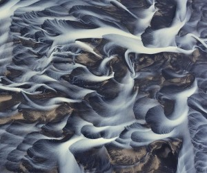Aerial Photographs of Iceland Rivers by Andre Ermolaev
