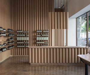 Aesop Downtown LA store by Brooks  Scarpa